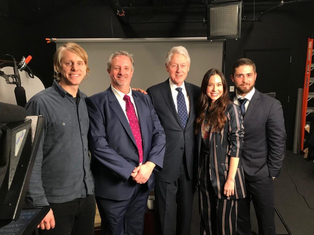 Bill Clinton Interview