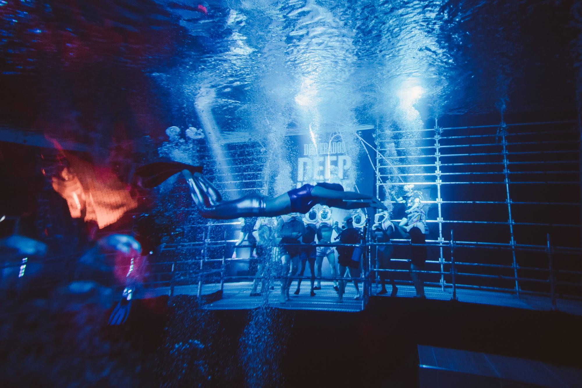 Underwater Rave for  Desperados